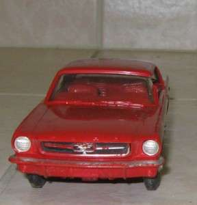 60s FORD MOTOR COMPANY FORD MUSTANG DEALER PROMO CAR