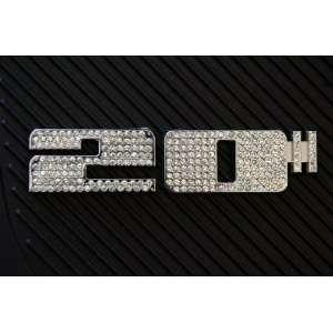 20 ICED EMBLEMS DECALS ABC CHROME WHEELS/ RIM Automotive