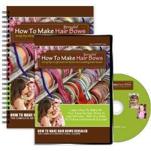 Hair Bows Includes DVD and e Manual (e Book) Arts, Crafts & Sewing