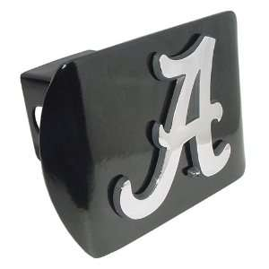 University of Alabama Crimson Tide Black with Chrome Plated Metal A