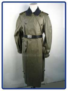 WW2 German Luftwaffe Rubberized Motorcycle Coat L