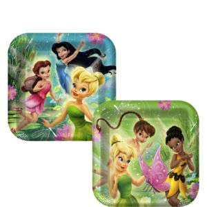 Disney FAIRIES Tinkerbell Birthday Party DINNER Plates