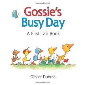Gossies Busy Day A First Tab Book (Gossie & Friends) [Board book