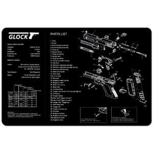 Cleaning Work Tool Bench Gun Mat For Glock Pistol Handgun Sports