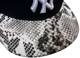 New York Yankees snake skin SNAPBACK Jay Z Kanye West Otis Video New