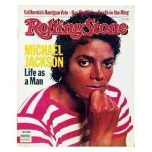 Michael Jackson / Rolling Stone Magazine Vol. 389, February 17, 1983