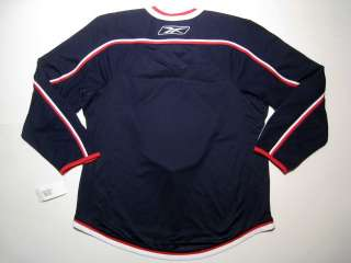 NEW SEWN Men L Stanley Cup Playoffs Pepsi NHL Hockey Jersey Reebok