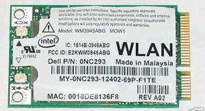 NEW Dell Latitude D520 Intel 3945 WLAN 802.11a/b/g Mini WM3945ABG