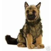New German Shepherd Puppy Plush 16 Inches Hansa 3995