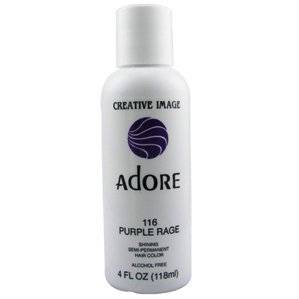 ADORE Semi Permanent Hair Color #116 Purple Rage 4 oz