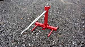 Point Bale Hay Spear Gooseneck Mover Reciever Hitch
