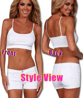 Gray Sports Bra Cami Bralette Tank Top Dance Wear Cute