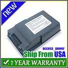 4400mAh 8 cell battery for Fujitsu Lifebook FPCBP80 FPCBP80AP Laptop