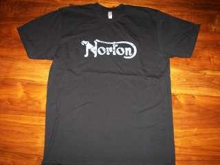 Norton Motorcycles T Shirt vintage ahrma commando 750