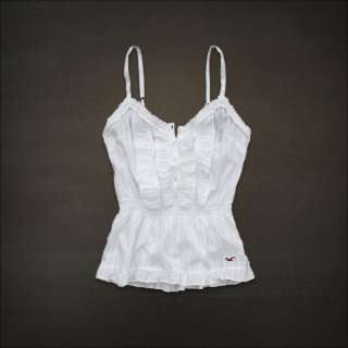 NWT Hollister by Abercrombie Women Wipeout Beach Tank Cami Shirt Top