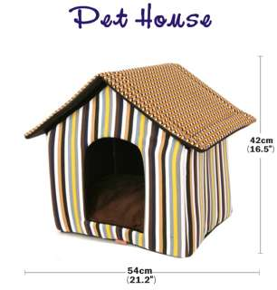 lovely indoor dog house pet house tent puppy carrier bed