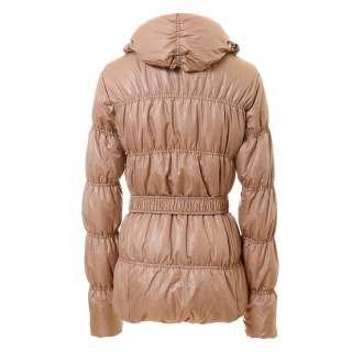 Vancl 2011 fashion trend womens ladies puffers Buckle Belt Short Down
