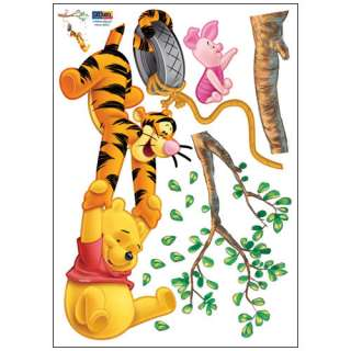 WINNIE THE POOH DECALS MURAL WALL DECOR STICKERS #243