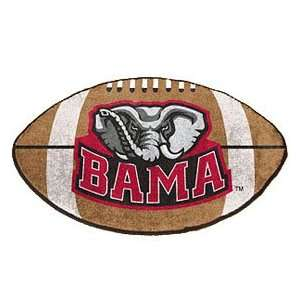 Alabama Crimson Tide 22X35 Football Mat Made Of