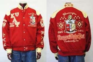 Kappa Alpha Psi Red Long sleeve Jacket Coat M 4XL NWT