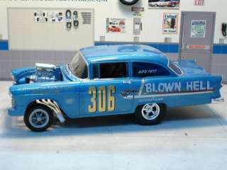 24 / 1:25   Blown Hell 55 AWB Chevy Coupe Decal Set