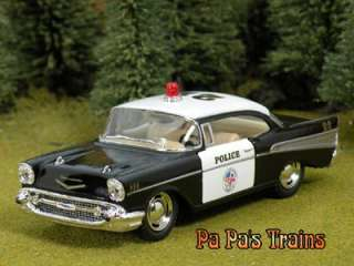 Chevrole Bel Air Police Car Large O Scale by Kinsmar 57 Chevy |