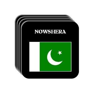 Pakistan   NOWSHERA Set of 4 Mini Mousepad Coasters