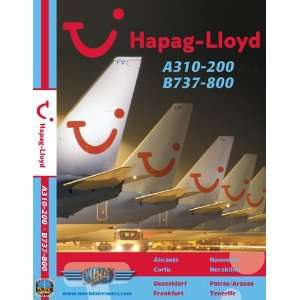 Hapag Lloyd Airbus A310 & Boeing 737 800:  , Just Planes