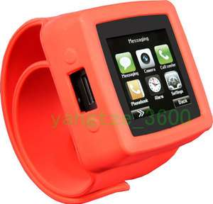 Unlocked Watch Cell Phone MQ666A Touch Screen quad band  mp4 FM