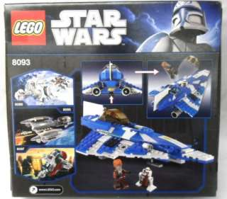 Lego 8093 Star Wars Plo Koons Jedi Starfighter Building Toy New