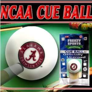Alabama Crimson Tide Officially Licensed Billiards Cue Ball by Frenzy