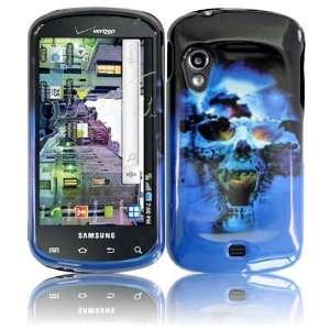 Blue Skull Hard Case Cover for Samsung Stratosphere i405