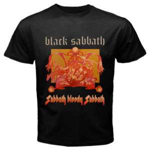 Black Sabbath Bloody Sabbath Black Mens T Shirt S 5XL