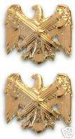 ARMY OFFICER COLLAR DEVICE NATIONAL GUARD BUREAU