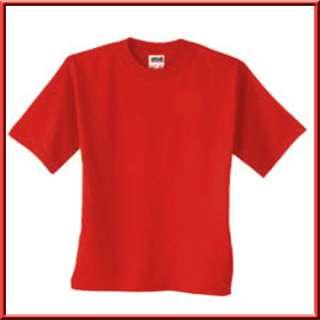 Blank Plain Unprinted Cotton Shirt S,M,L,XL,2X,3X,4X,5X