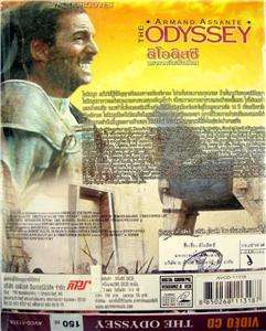 THE ODYSSEY Armand Assante, Homer Epic Fantasy 3 VCDs