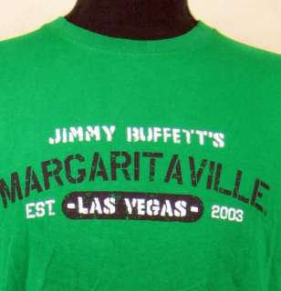 Jimmy Buffetts Margaritaville Las Vegas Nevada Mens Est. 2003 T Shirt