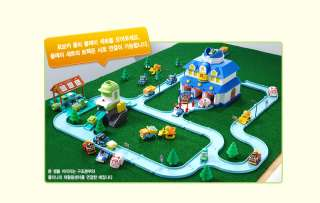 CLEANIS RECYCLING CENTER Academy Robocar Poli Play Set for Diecast