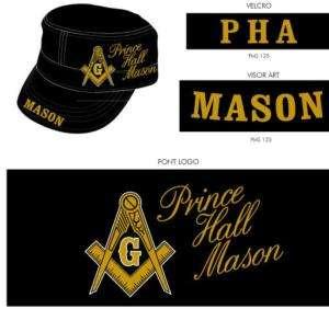 Prince Hall Masonic Mason Cap P.H.A Prince Hall Hat