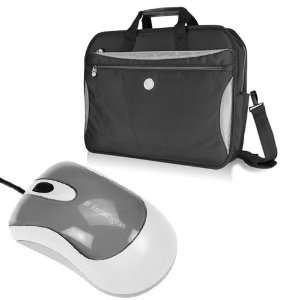 Water Resistant Laptop Bag + Kensington Two Buttons Scroll Wheel Wired