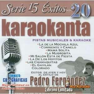Karaokanta KAR 1520   Al Estilo de Pedro Fernandez I
