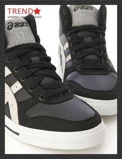 Brand New Asics Aaron MT Black/Peyote HI Shoes #25