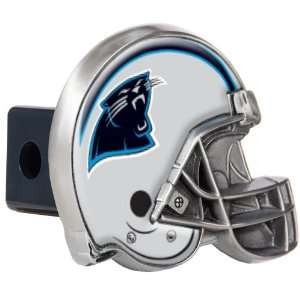 Carolina Panthers Great American Metal Helmet Trailer Hitch Cover