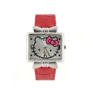 Cartoon Hello Kitty Sports Waterproof Watch Red