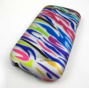 FUNKY ZEBRA SKIN HARD CASE COVER FOR SAMSUNG GOOGLE NEXUS S 4G PHONE