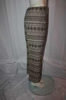 ANNE KLEIN Women Native American Style Vtg 70s SUIT 10
