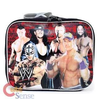 WWE Wrestling School Lunch Bag  Group Vertical Insulated Bag John Cena