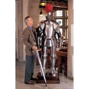 Xoticbrands 77 Italian Made Full Suit Knight Armor Statue