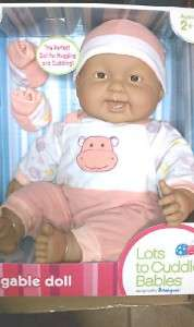 This auction is for AFRICAN AMERICAN baby in PEACH outfit. (Doll is