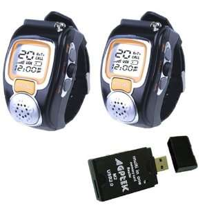 Auto Channel Scan Spy Wrist Watch with LCD display and Auto Squelch
